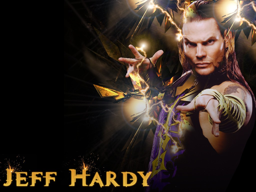 jeff hardy wwe superstar hd 3d wallpaper