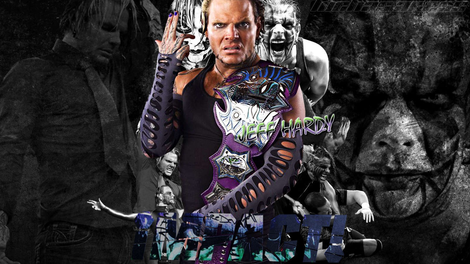 jeff hardy wwe superstar hd enigma 3d wallpaper