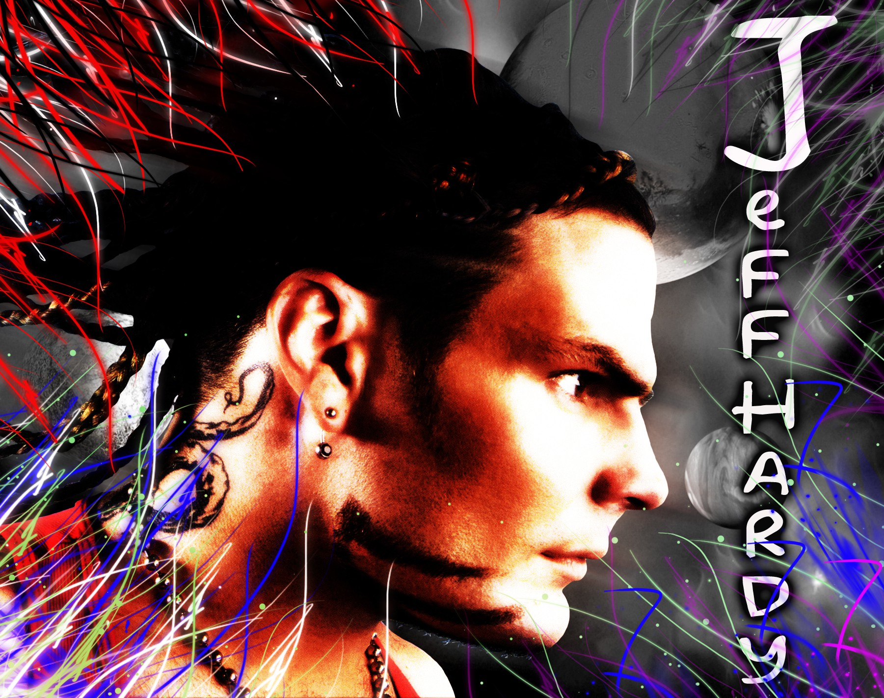 jeff hardy wwe superstar hd free wallpaper