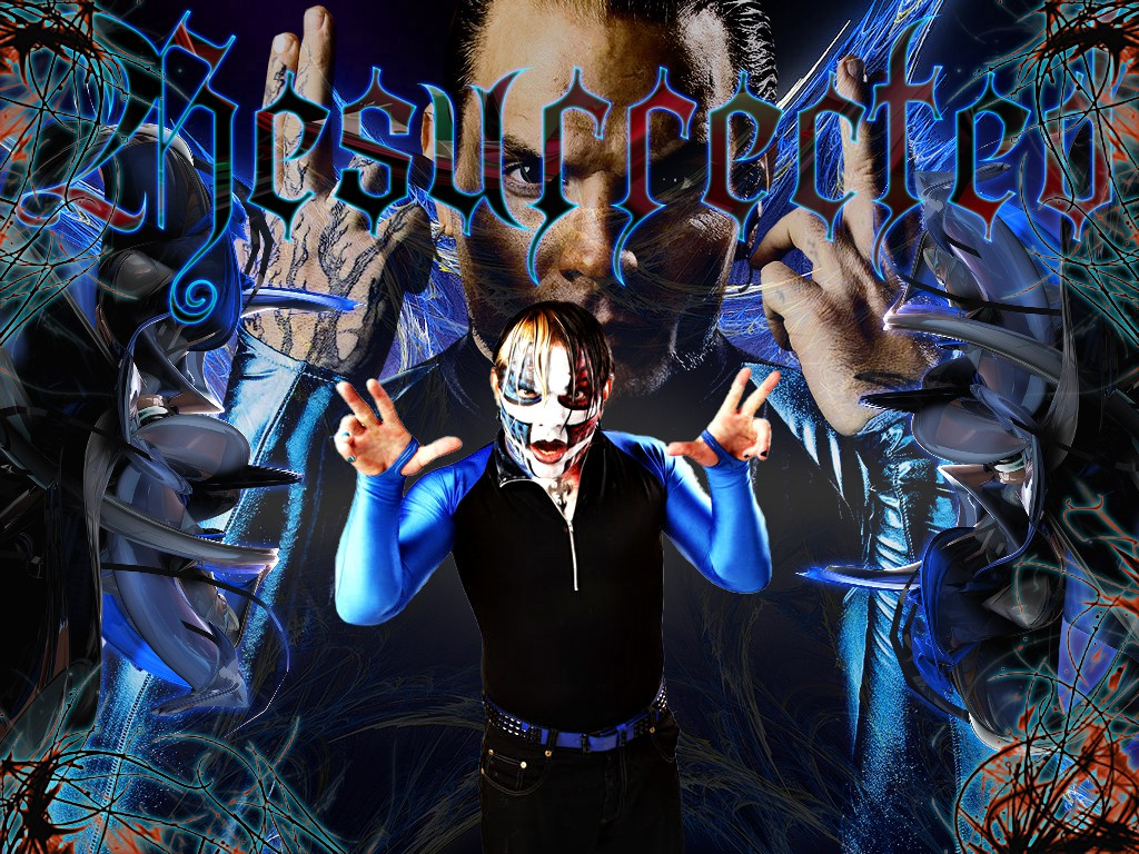 jeff hardy wwe superstar hd resurrected wallpaper