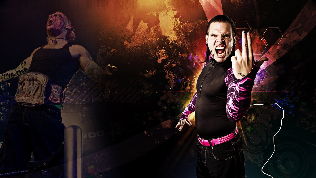 jeff hardy wwe superstar hd wallpaper wide