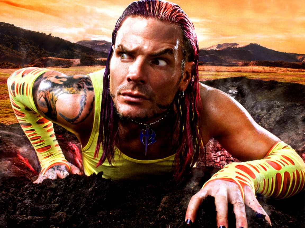 jeff hardy wwe superstar hd wallpaper