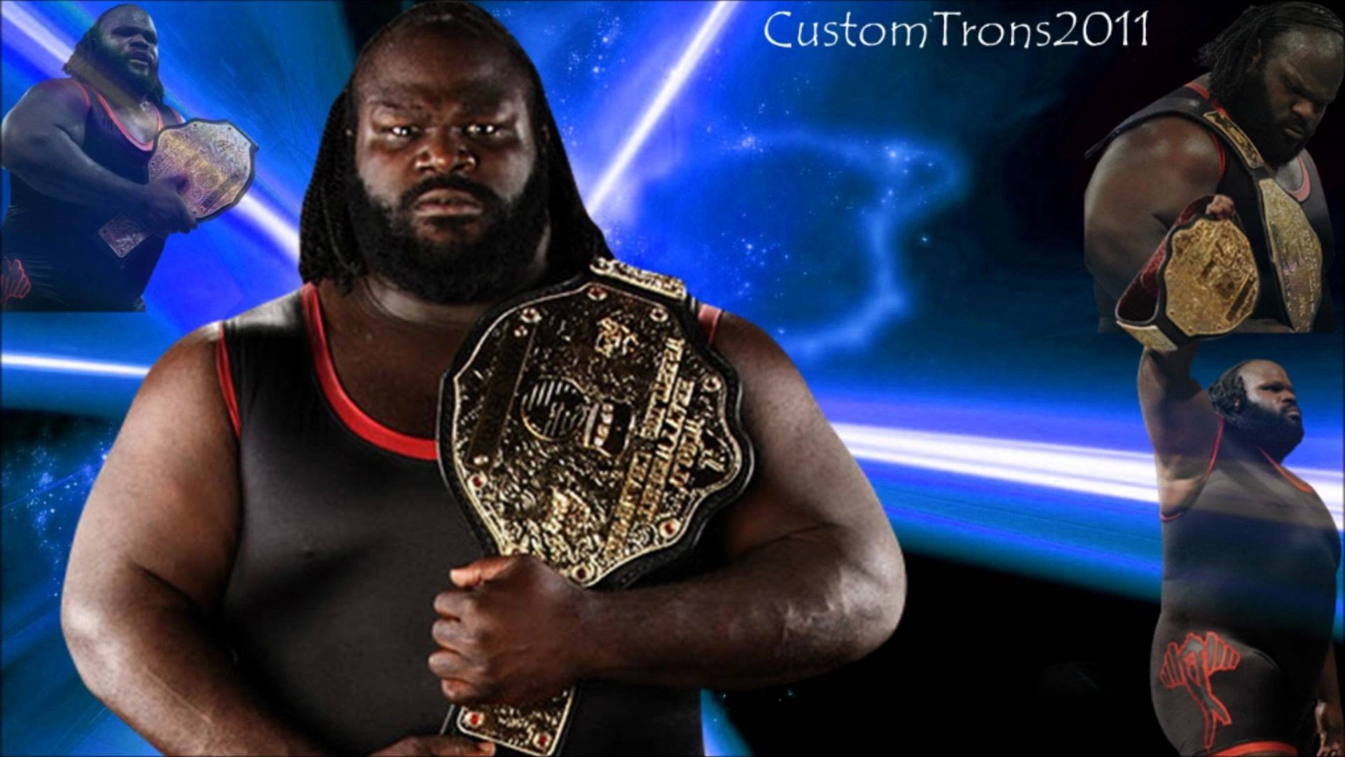 mark henry wwe champion wallpaper