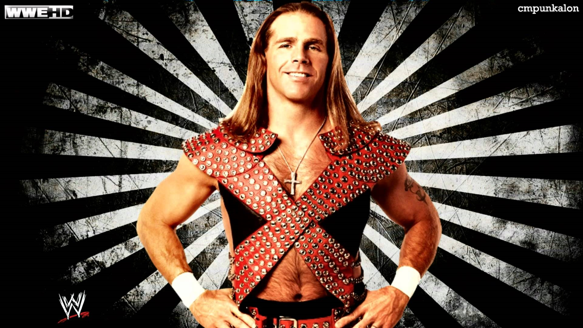 shawn michaels hbk wwe desktop background wallpaper hd