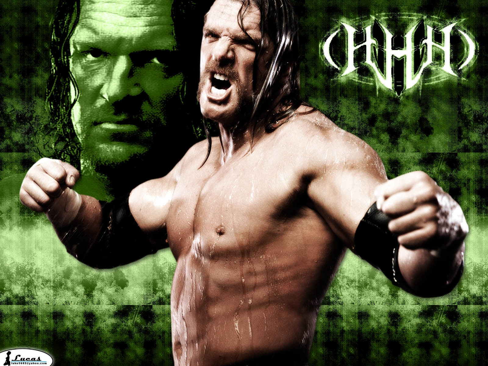 sport triple h wrestling desktop background wallpaper