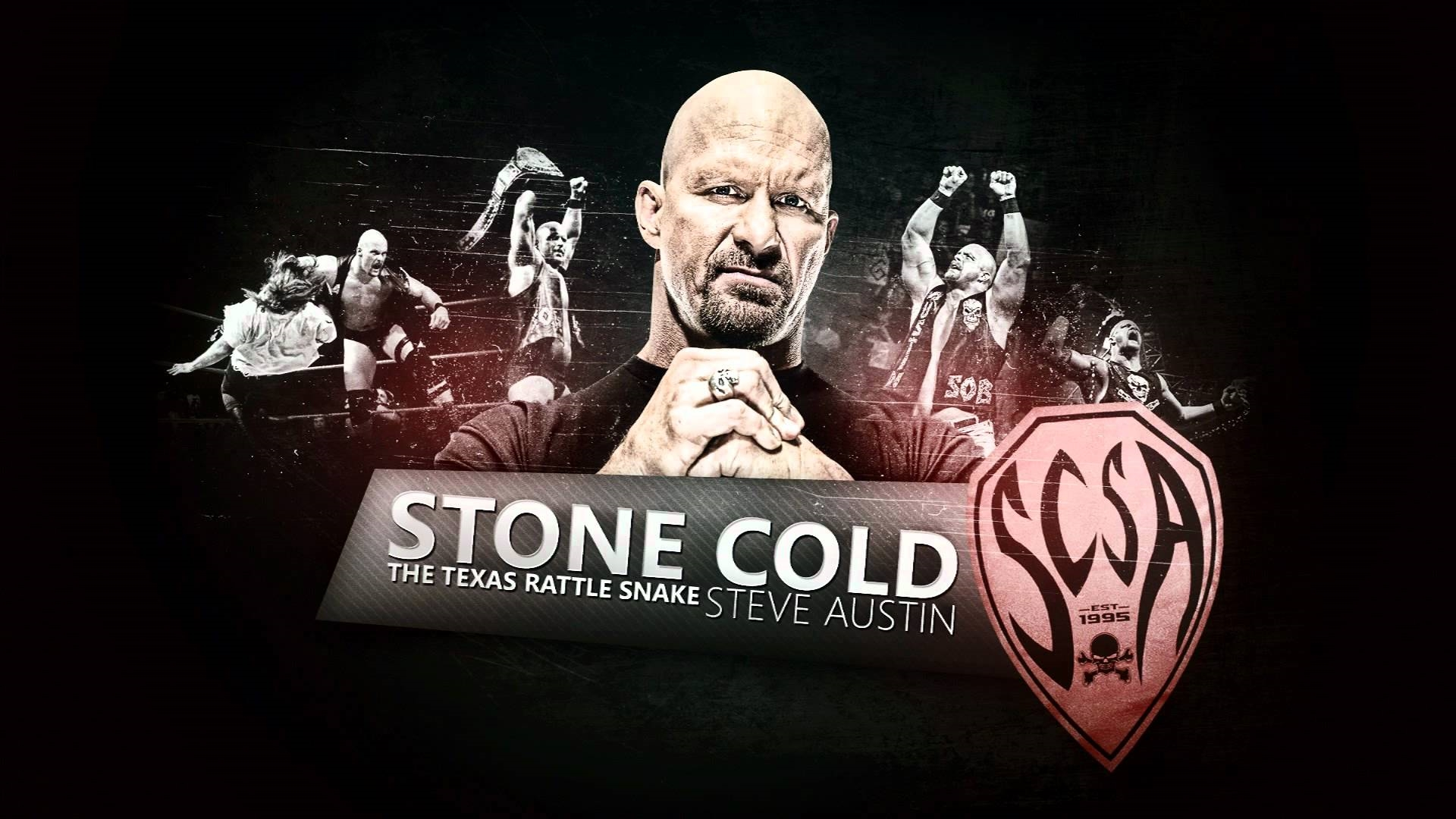 stone cold steve austin 3 16 texas rattle snake wwe hd