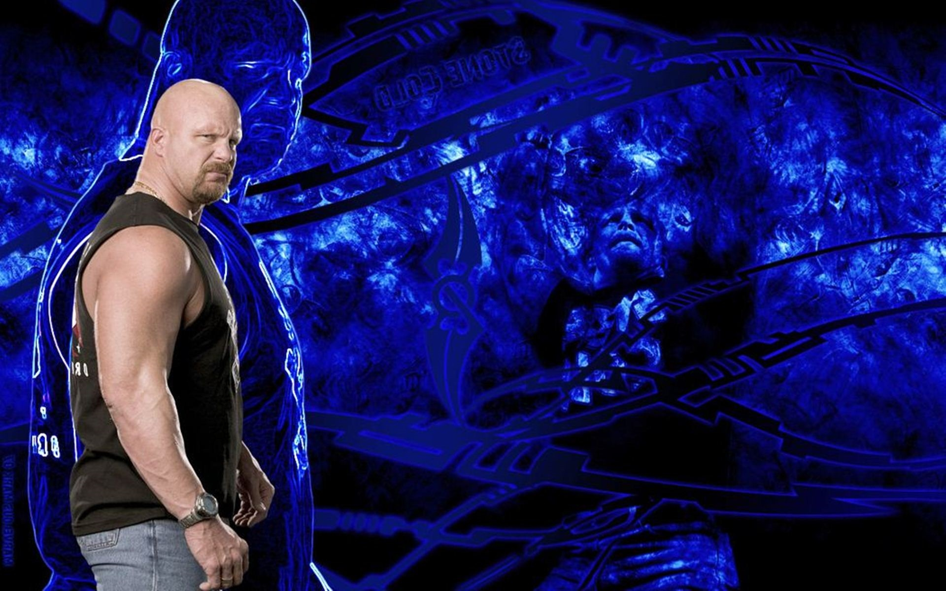 stone cold steve austin free hd background wallpaper
