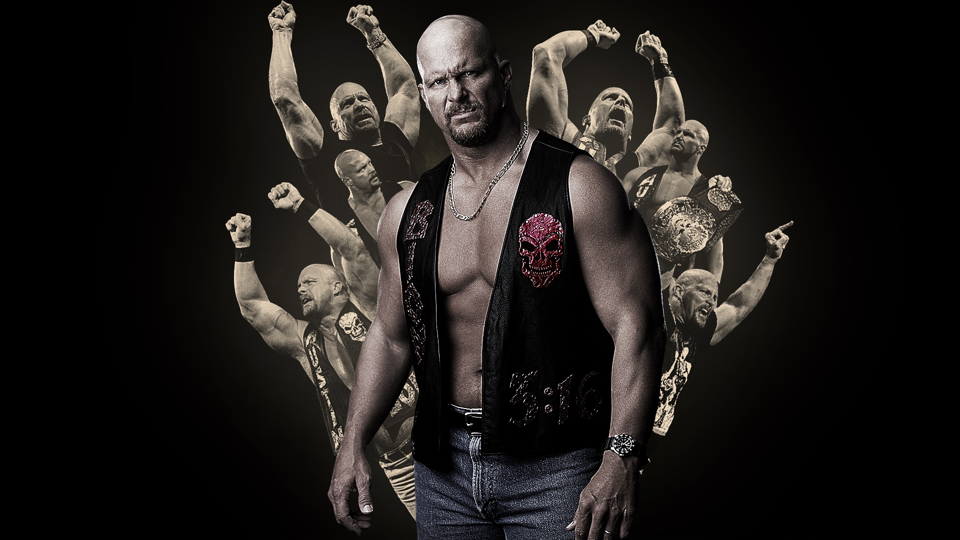 stone cold steve austin wallpaper wwe