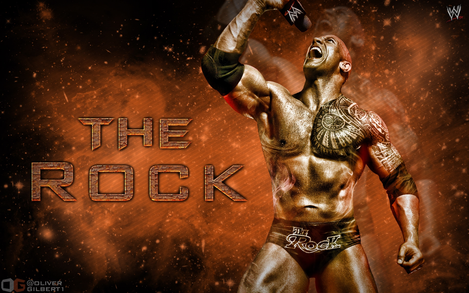 The Rock Hd Wwe