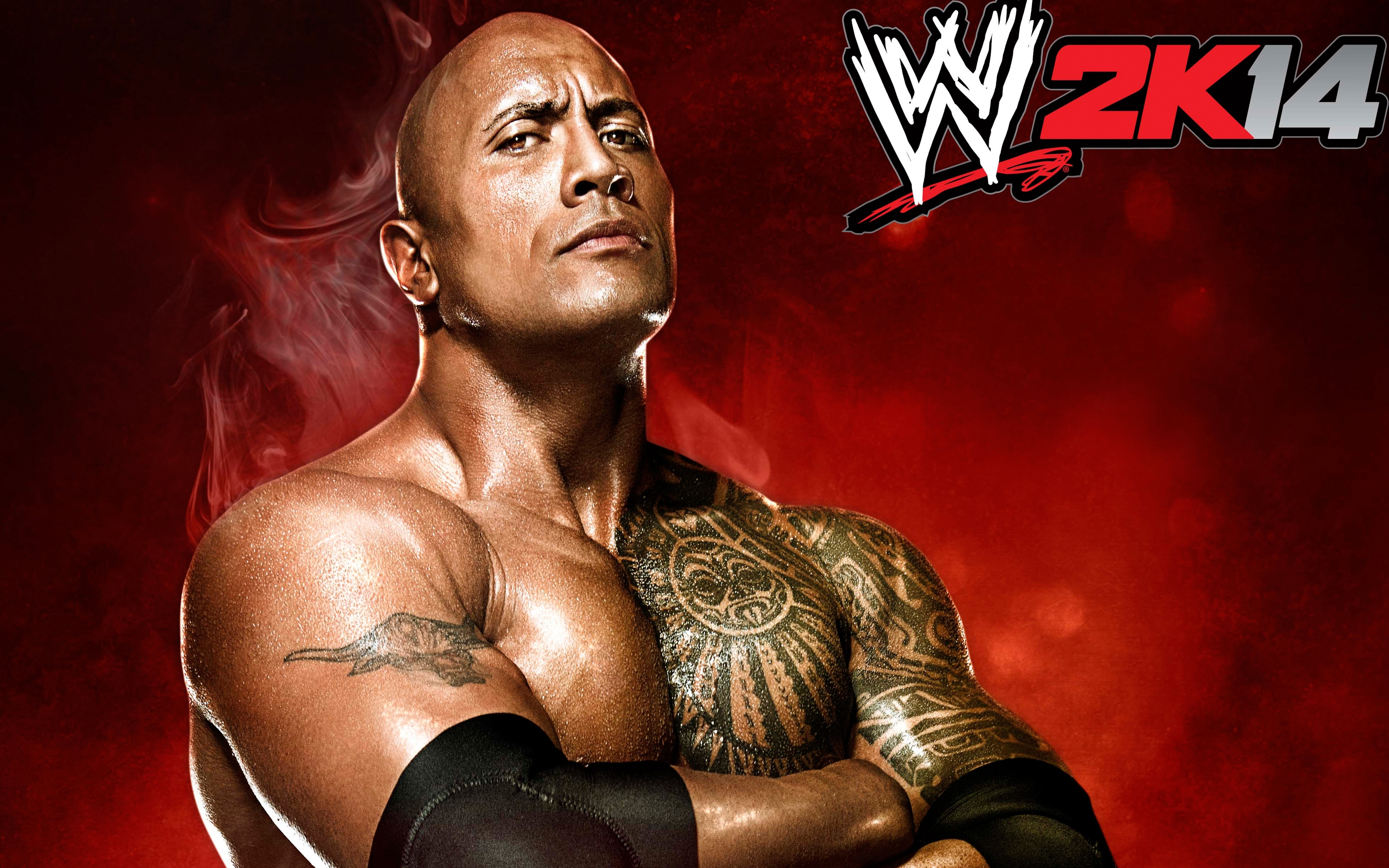 the rock wwe super star free hd wallpaper