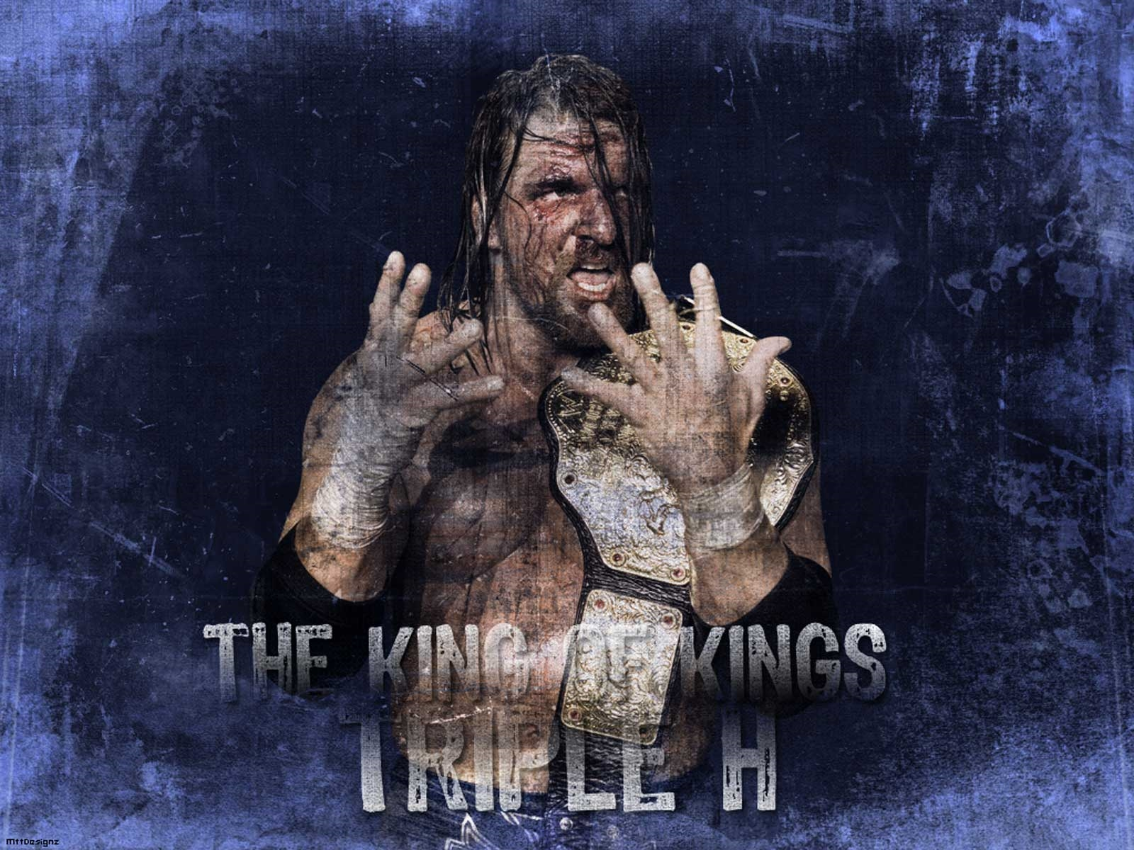 triple h the king