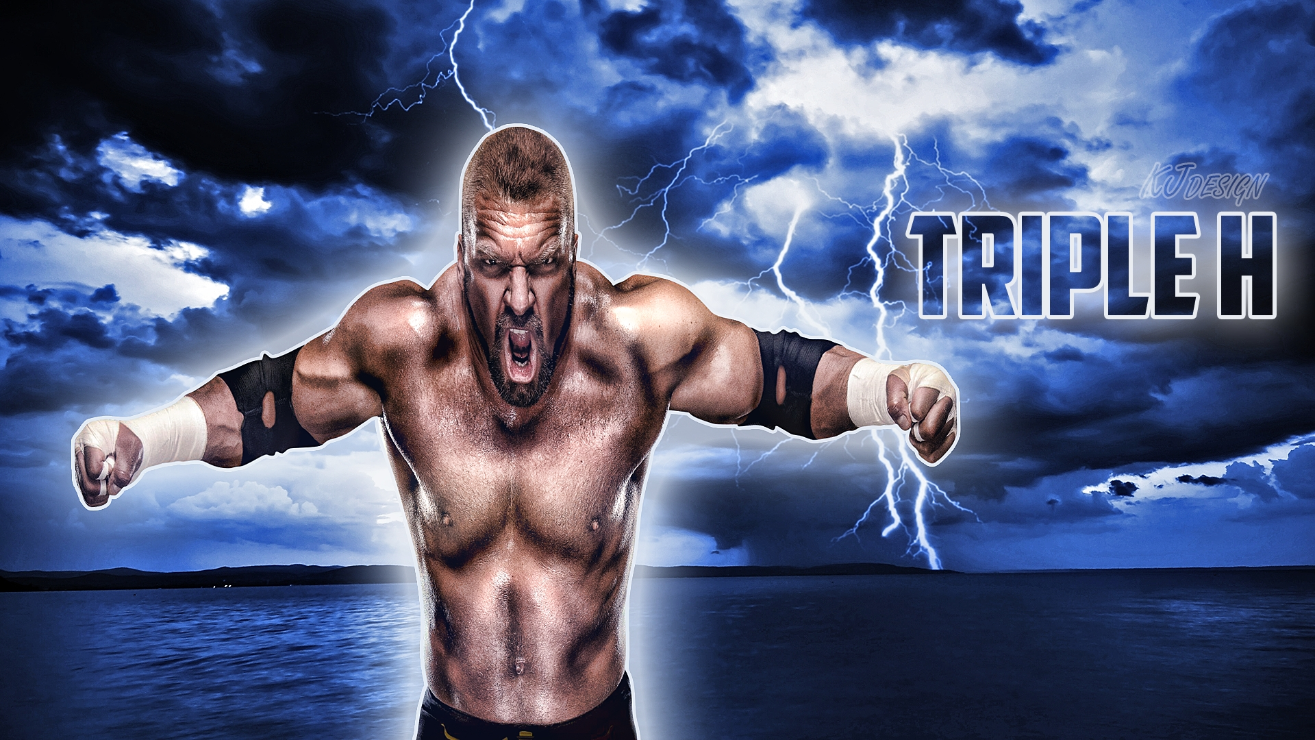 triple h wallpaper hd