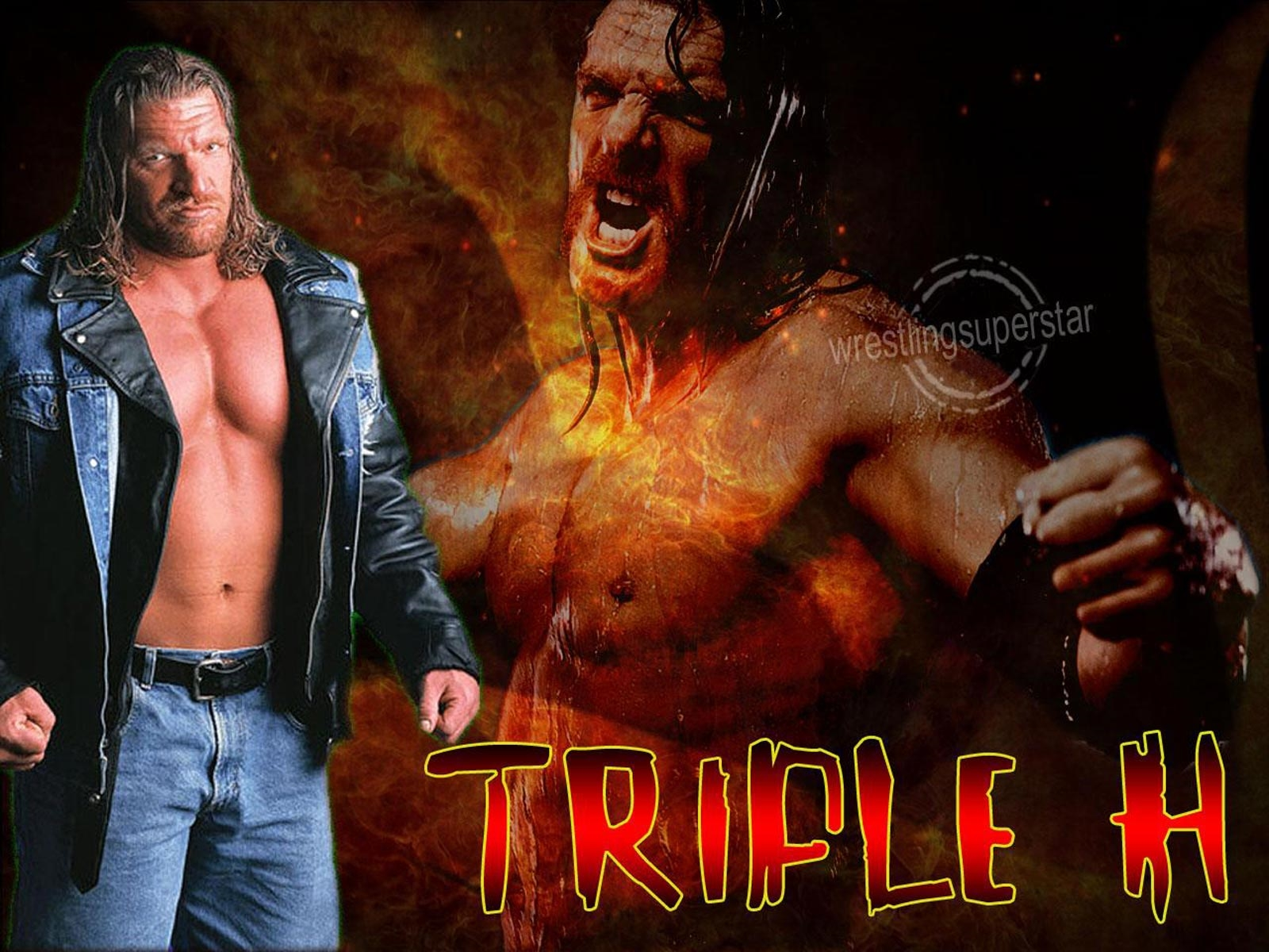 triple h wallpaper superstar
