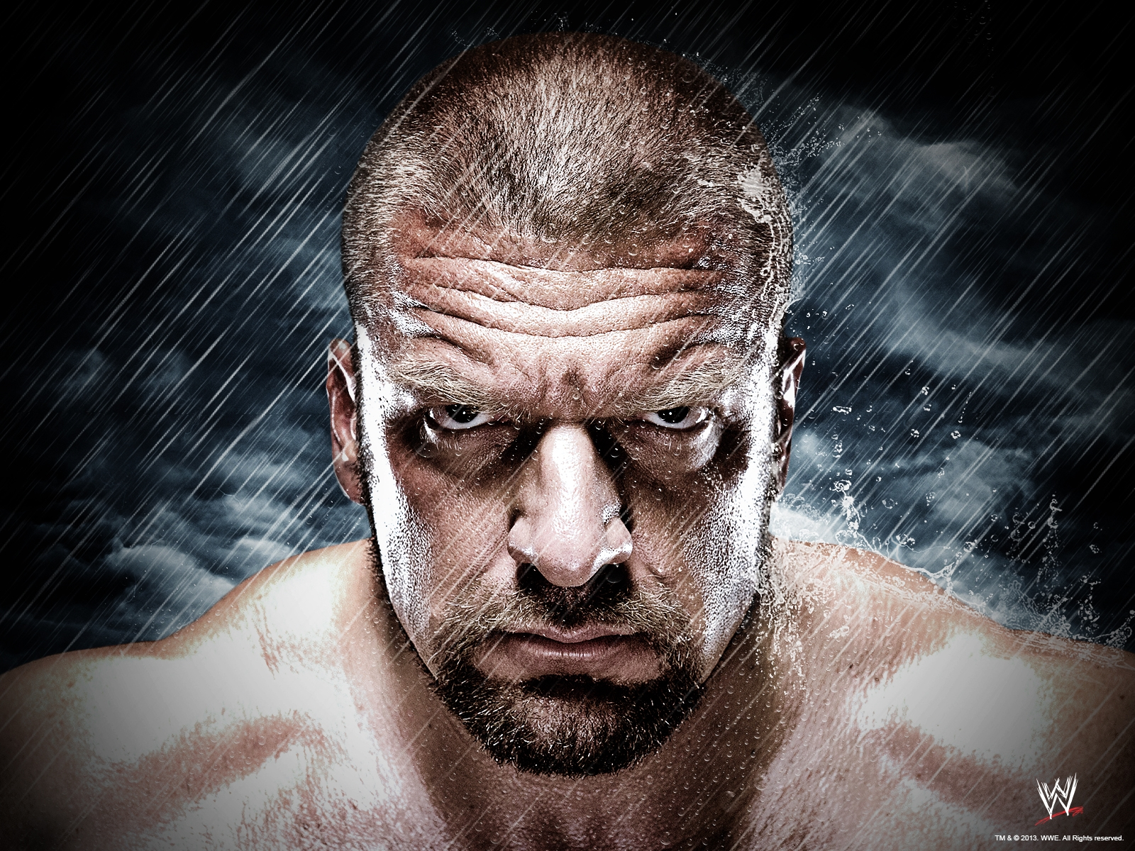 triple h wallpaper wwe 1600 1200