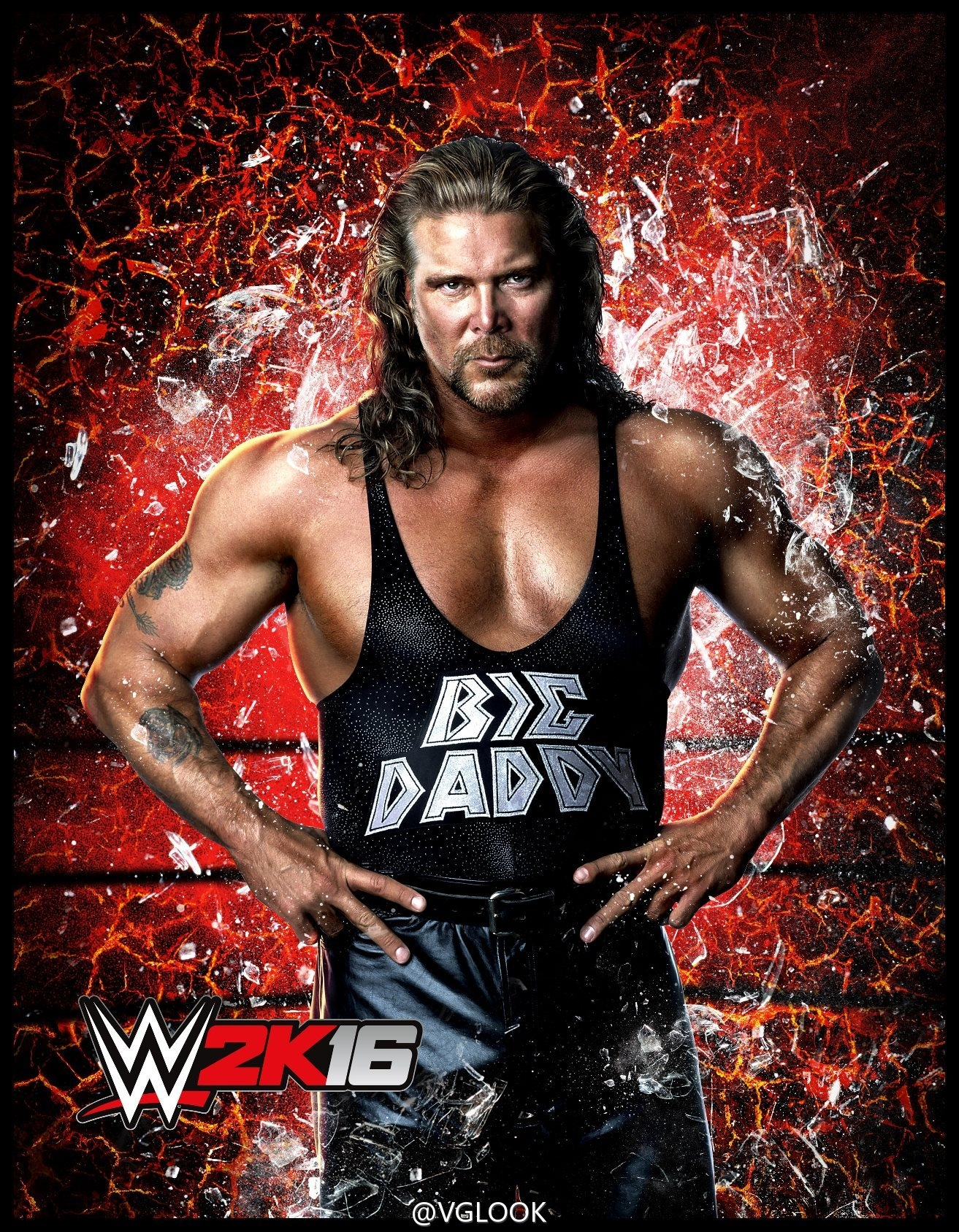 wwe diesel big daddy cool