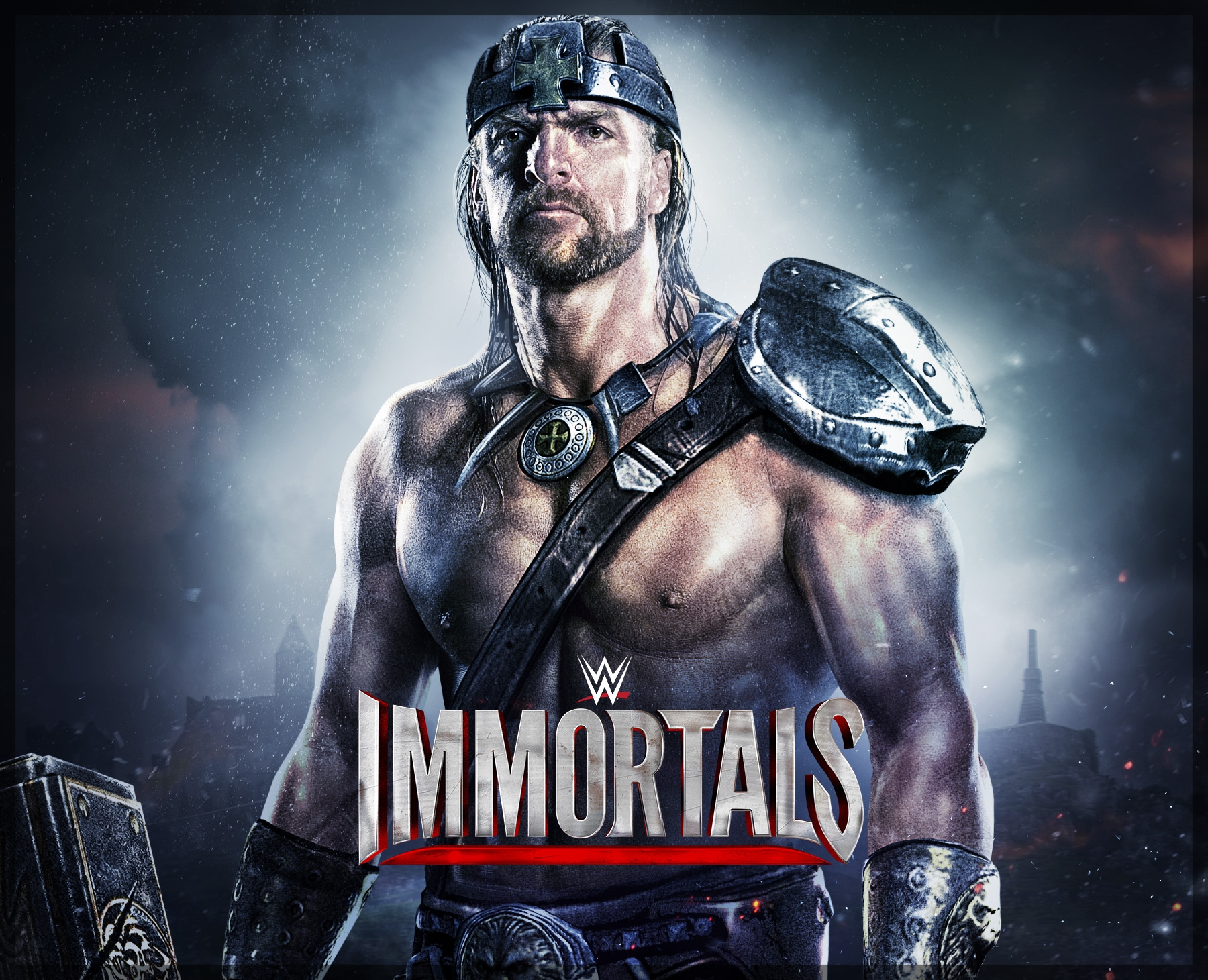 wwe immortals triple h