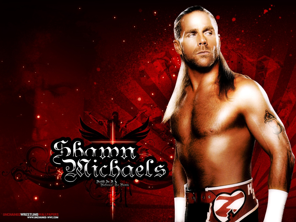 wwe shawn michaels desktop hd wallpaper