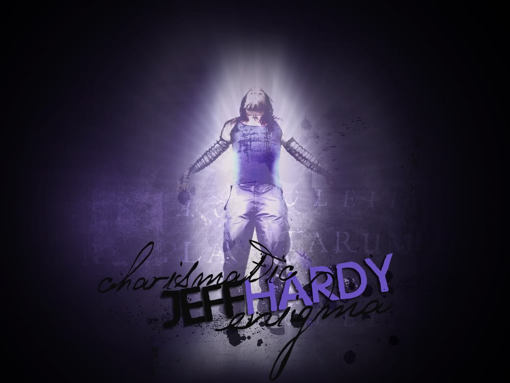 wwe superstar jeff hardy 3d hd wallpaper