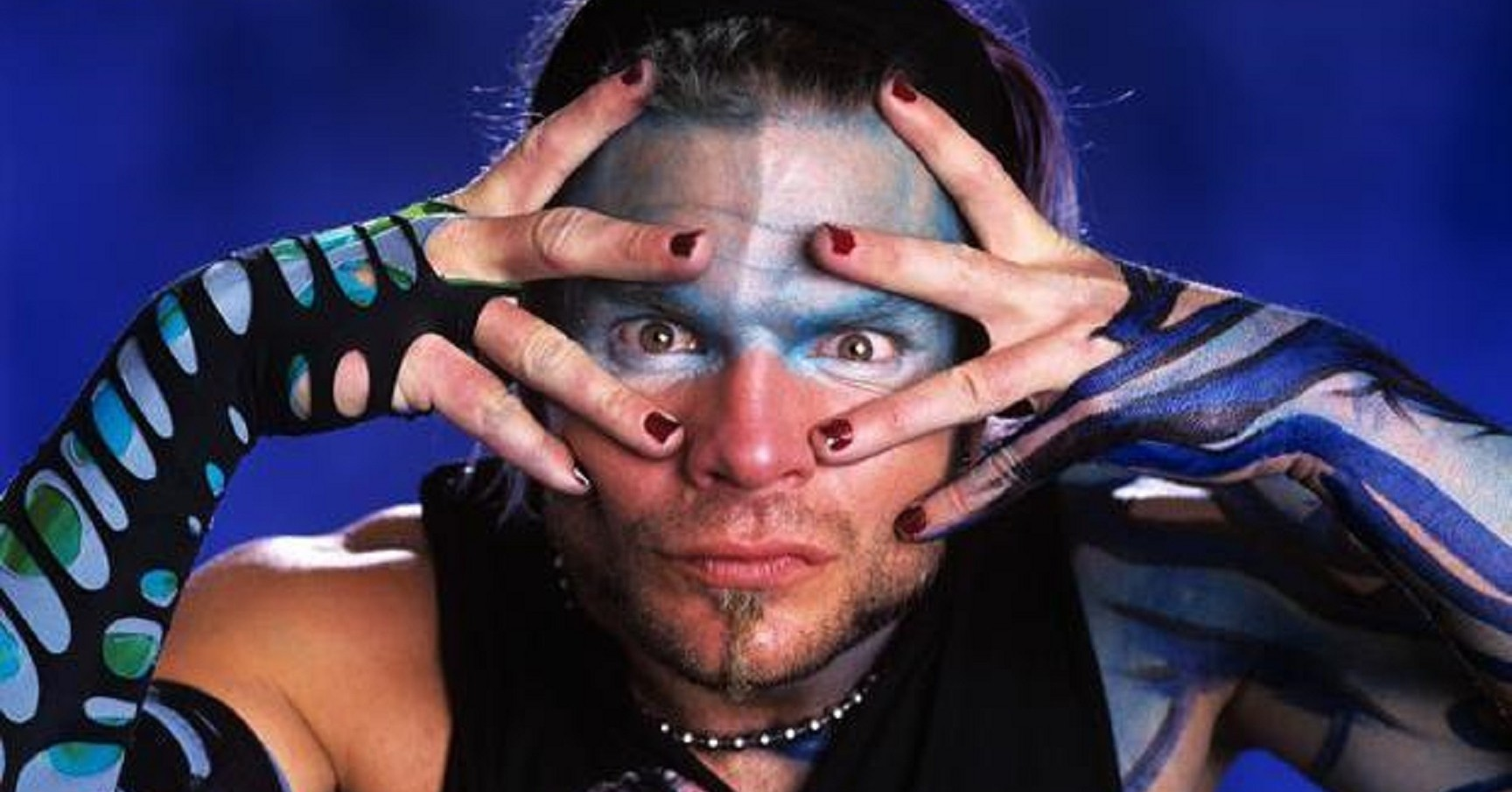 wwe superstar jeff hardy close up hd 3d wallpaper