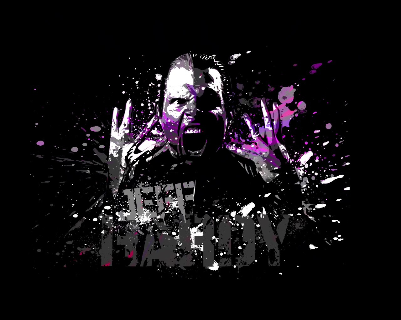 wwe superstar jeff hardy hd 3d cool wallpaper