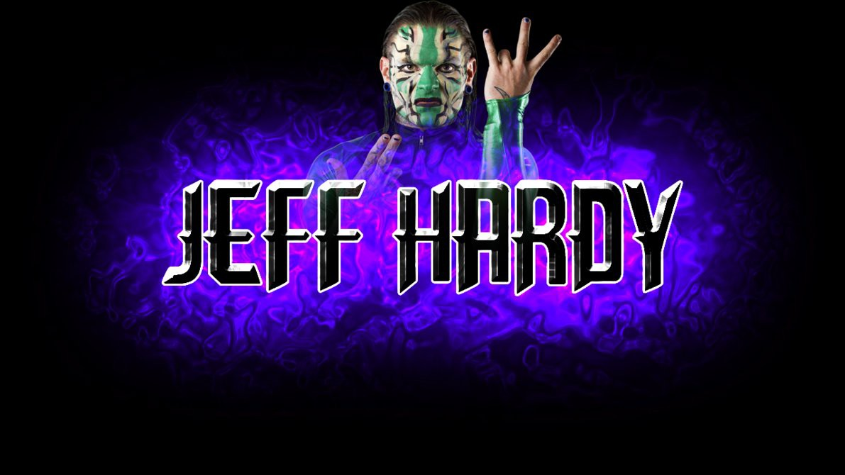 wwe superstar jeff hardy hd 3d wide wallpaper