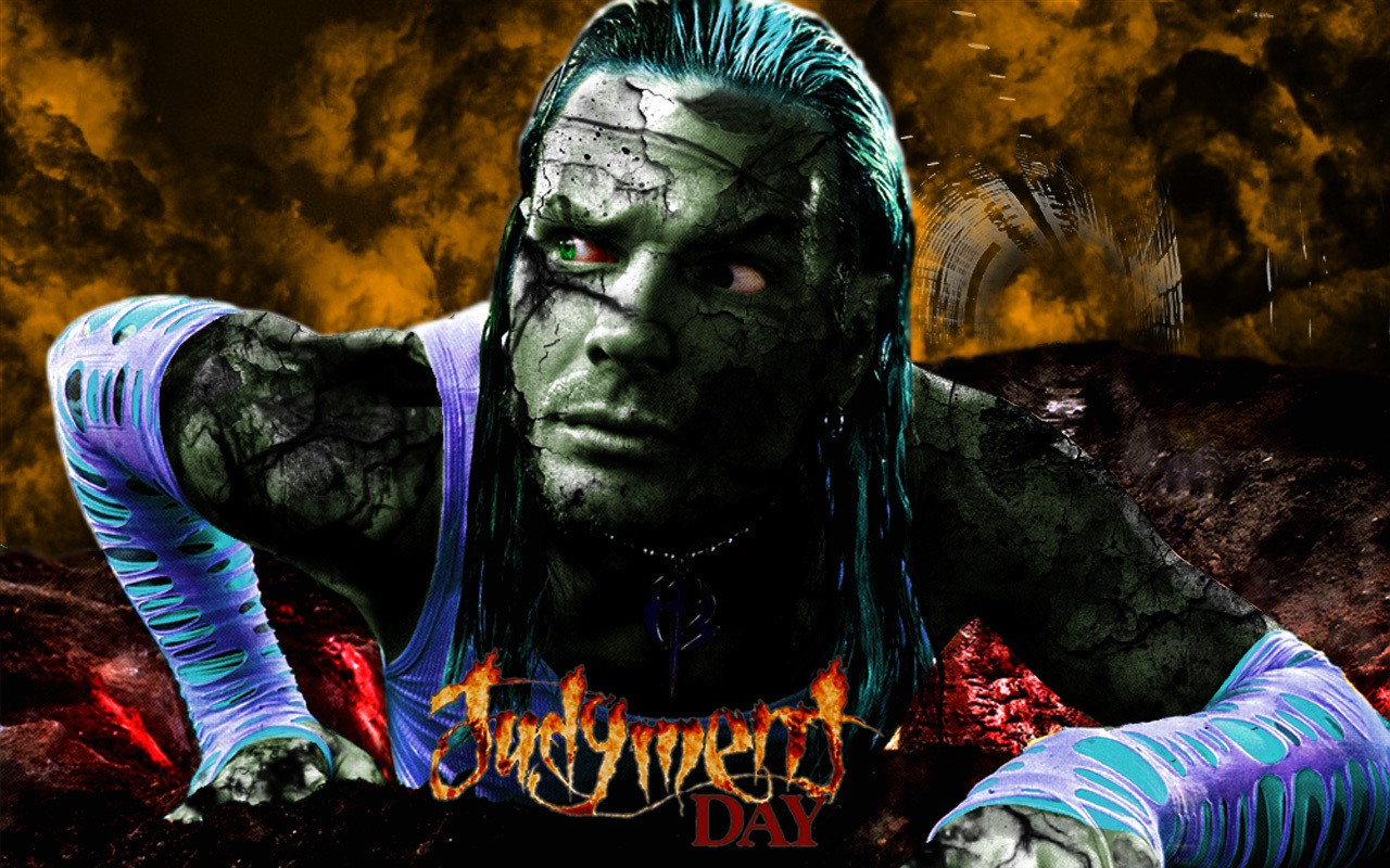 wwe superstar jeff hardy judgement day hd 3d wallpaper