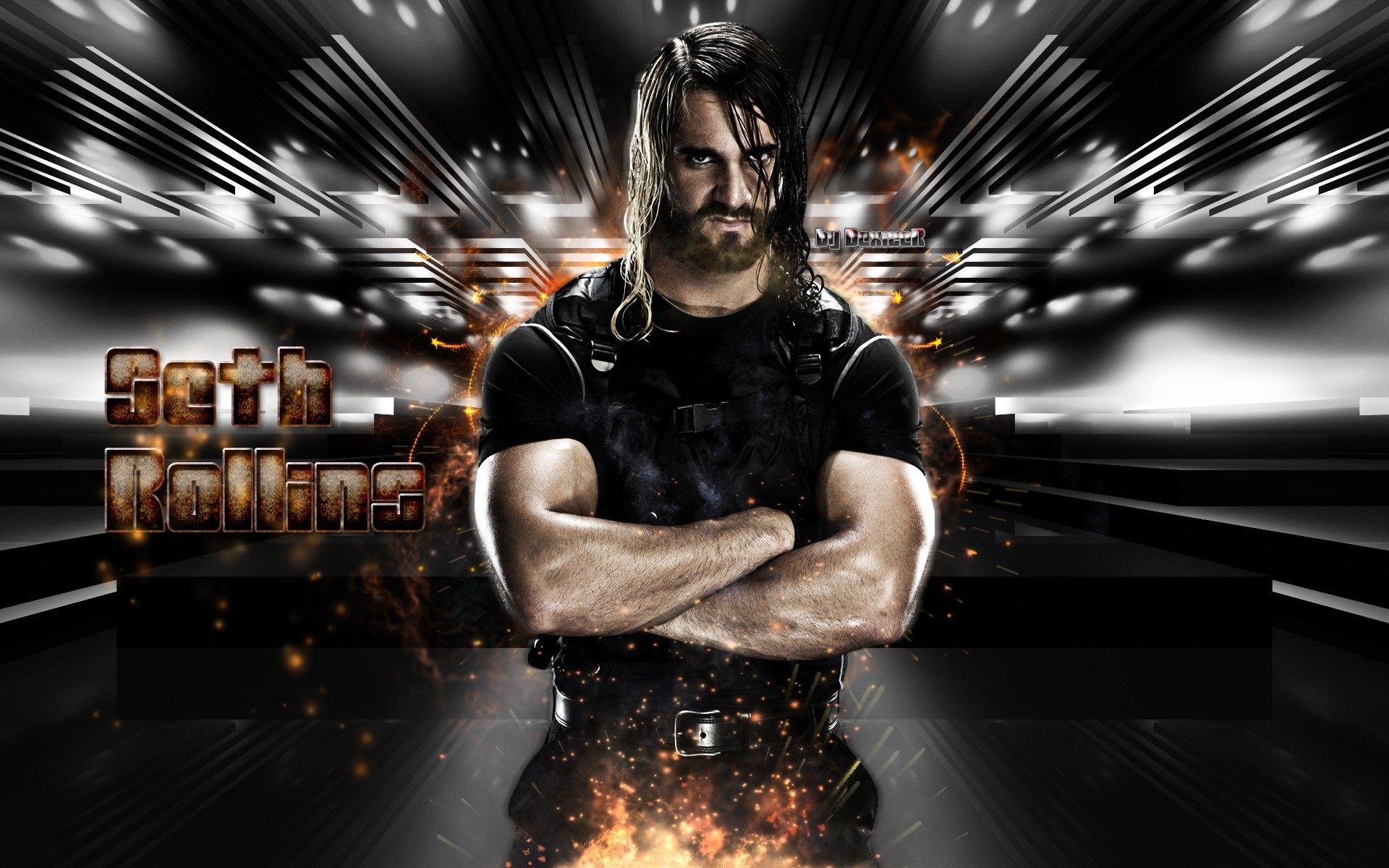 Wwe Superstar Seth Rollins Wallpapers