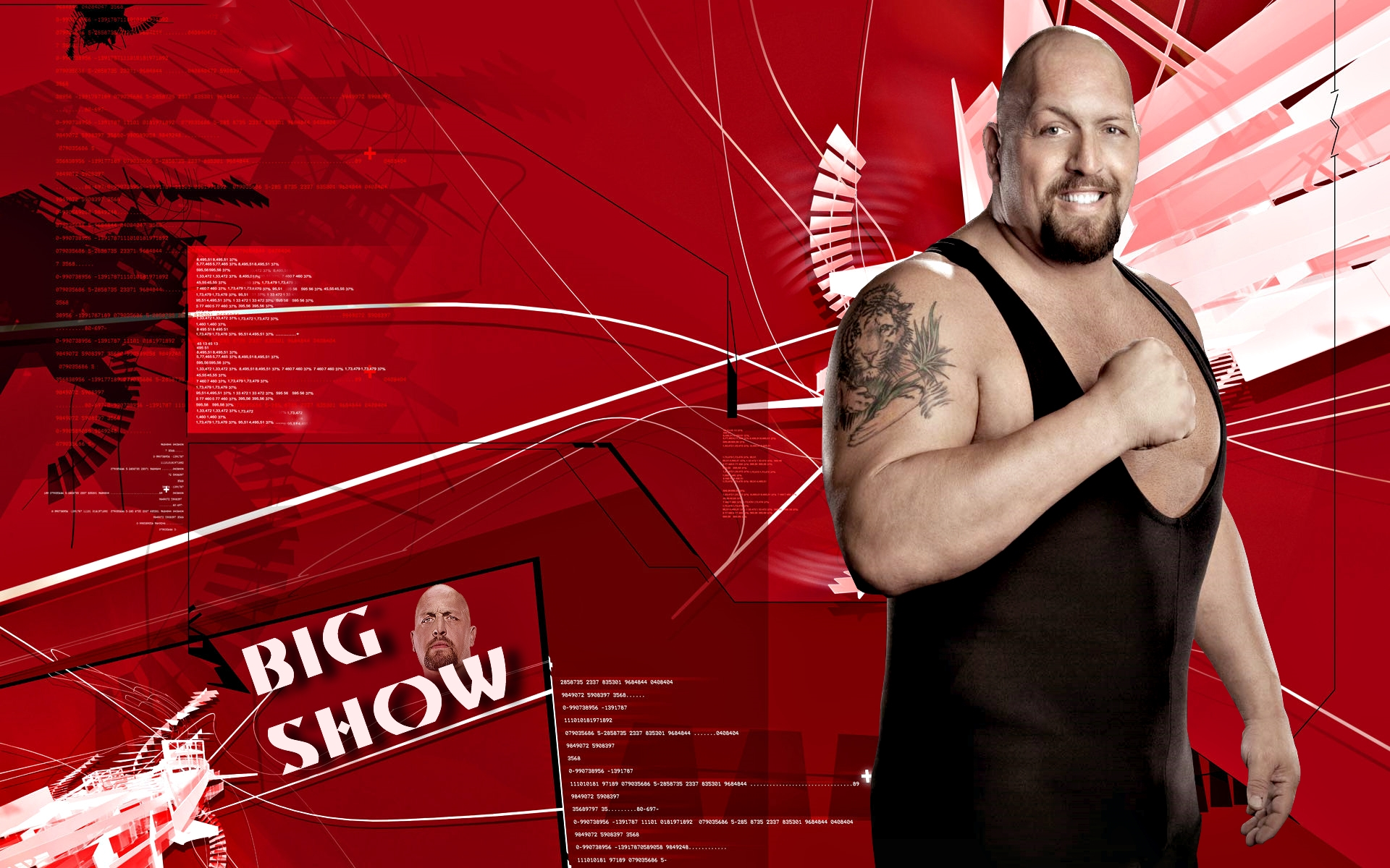 wwe superstars big show hd wallpaper