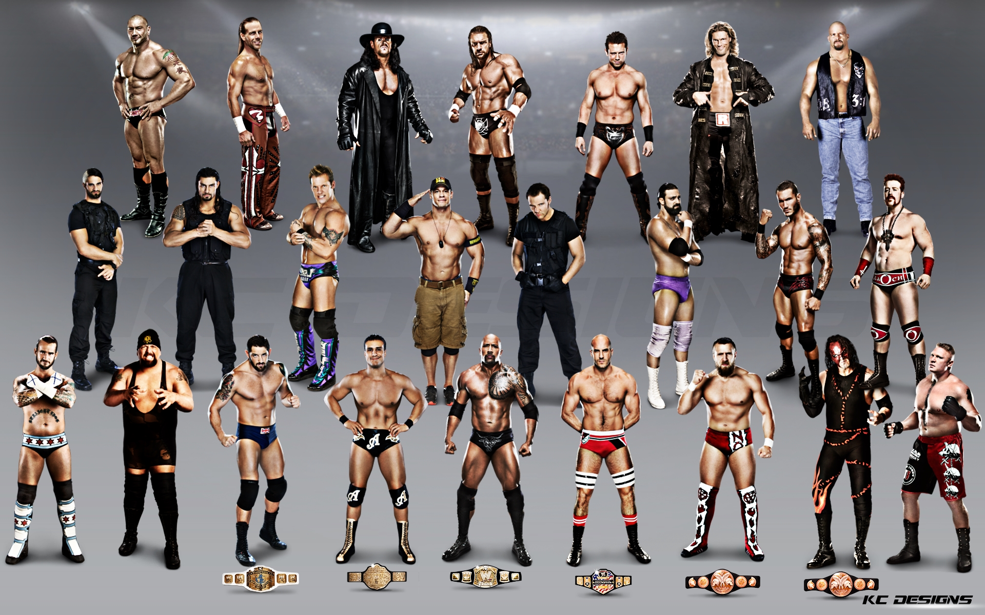 wwe superstars wallpaper