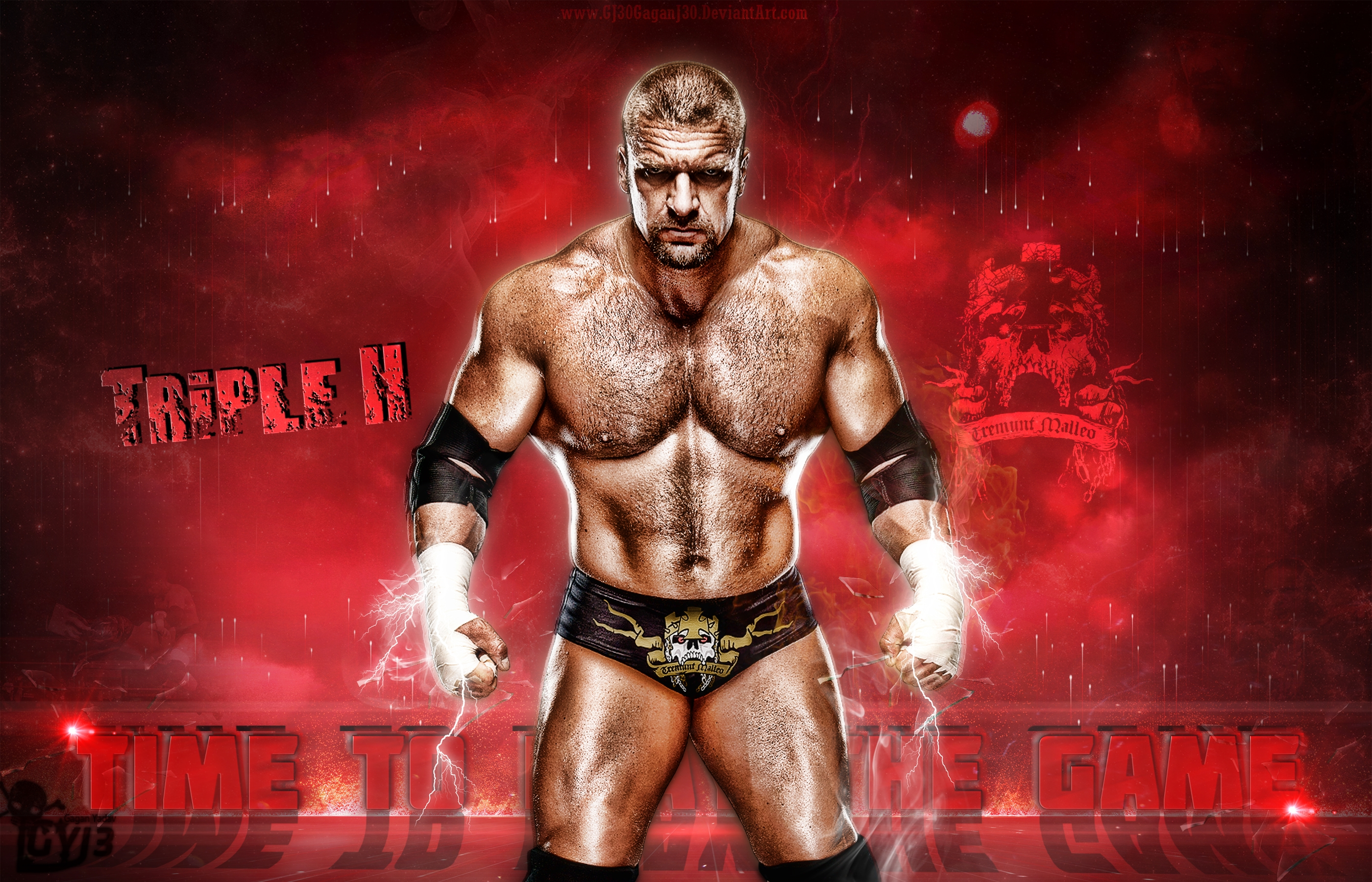 wwe triple h wallpaper free hd