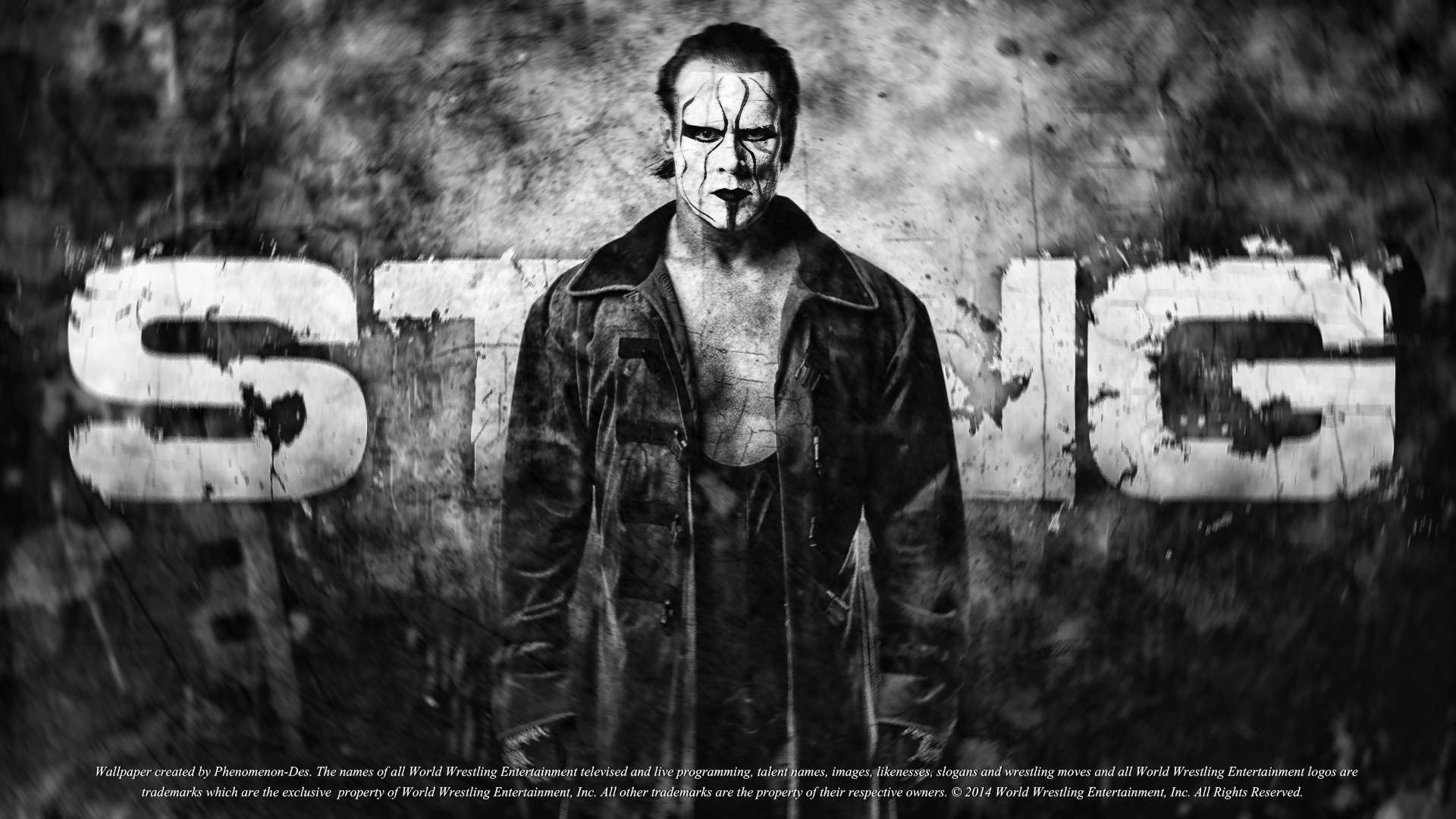 wwe wallpaper sting hd